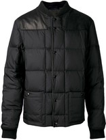 Lanvin quilted waxed jacket