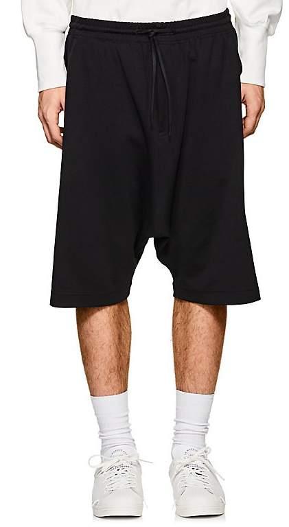 Y-3 Men's Cotton-Blend Tech-Jersey Shorts