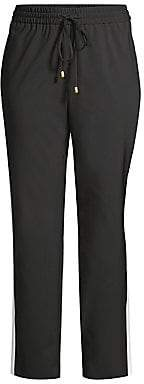 Escada Sport Women's Wool Racer Stripe Pants