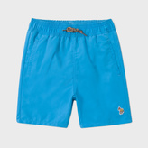Paul Smith Boys' 7+ Years Teal Swimming Shorts With Dinosaur Print