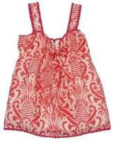 Kate Spade Pink & White Linen & Silk Tank