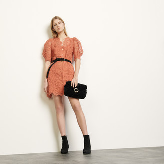 Sandro Lace coat dress