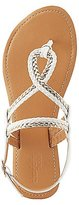 Charlotte Russe Braided Thong Sandals