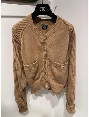 Chanel Camel Wool Knitwear