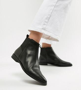ASOS DESIGN Atom leather chelsea boots