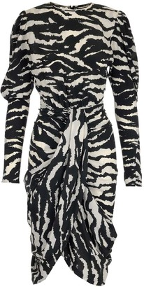 Isabel Marant Printed Draped Dress