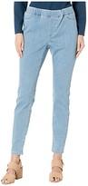 Eileen Fisher Organic Cotton Soft Stretch Denim Jeggings in Light Blue (Light Blue) Women's Jeans