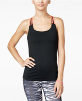 Energie Active Juniors' Charlotte Mesh Racerback Compression Tank Top