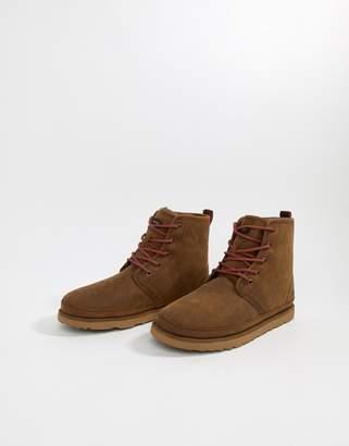 Harkley Treadlite waterproof boots in brown suede