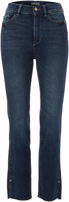 DL1961 Women's Mara High Rise Straight Leg Ankle Jeans