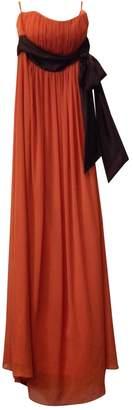 Nina Ricci Orange Dress for Women Vintage