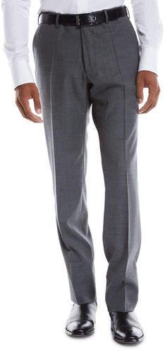 Incotex Men's Benson Wool-Stretch Dress Pants