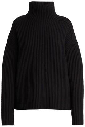 Acne Studios Ribbed Wool Mockneck Sweater