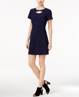 Kensie Cutout A-Line Dress