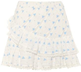 LoveShackFancy Exclusive to Mytheresa Emma floral cotton miniskirt