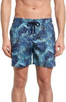 Vilebrequin Men's Mahina Madrague Print Packable Swim Trunks