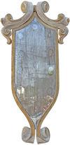 One Kings Lane Vintage Italian Painted & Parcel Gilt Mirror