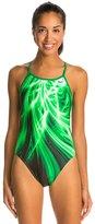 Nike Swim Galactic Opera Modern Cut Out Tank One Piece Swimsuit 48173