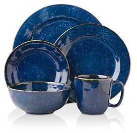 Juliska Puro Cobalt 5 Piece Dinnerware Setting