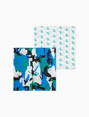 Calvin Klein Cotton 2-Pack Bandana Face Covering