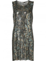 Paco Rabanne paisley mesh dress
