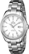 Omega 23110342004001 Women's Wrist Watches, Dial, Silver Band