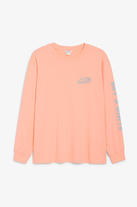 Monki Long sleeve tee