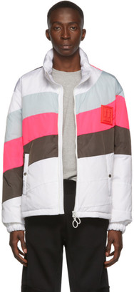Off-White White Down Puffer Anorak Jacket