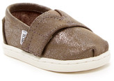 Toms Metallic Faux Leather Slip-On Shoe (Baby, Toddler, & Little Kid)