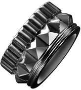 Waterford Wedgwood Rebel Gracie Gunmetal Studded Ring