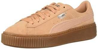 Puma Women's Suede Platform Sneaker