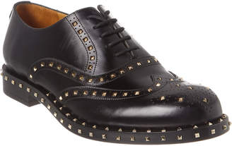Valentino Derby Leather Oxford