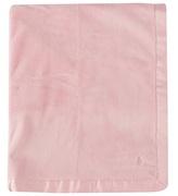 Ralph Lauren Pale Pink Velour Blanket