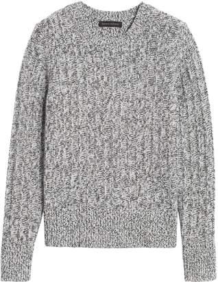 Banana Republic Marled Wool-Blend Sweater