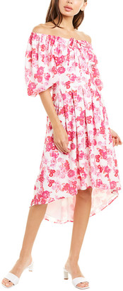 For Love & Lemons Aruba Midi Dress