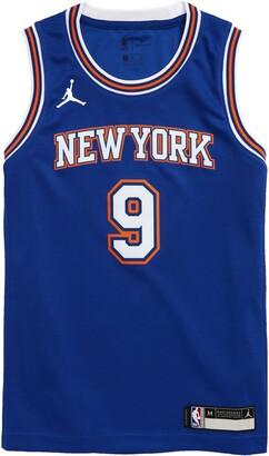 Jordan Dri-FIT Kids' NBA New York Knicks RJ Barrett Icon Edition Jumpman Jersey