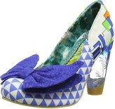 Irregular Choice Womens Bowtina Textile Shoes 38 EU