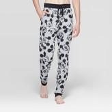 Men's Mickey Mouse Jogger Pajama Pants - Heather