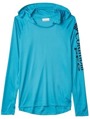 Columbia Tidal Teetm Hoodie (Clear Water/Collegiate Navy) Women's Sweatshirt