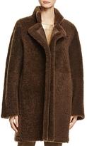 Vince Reversible Shearling Coat