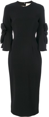 Roksanda Lavete bow sleeves dress
