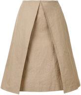 ASTRAET layered a-line skirt - women - Cotton - 0