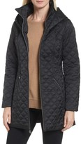 Laundry by Shelli Segal Women's Hooded Quilted Jacket