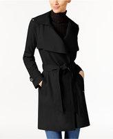 MICHAEL Michael Kors Wing-Collar Trench Coat