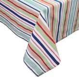Bed Bath & Beyond Summer Days Surfboard Stripe 60-Inch x 84-Inch Oblong Tablecloth