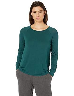 Amazon Essentials Relaxed Long-Sleeve Sleep T-Shirt Pajama Top