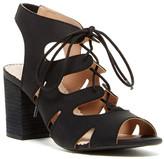 Restricted Kad Slip On Heeled Sandal