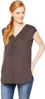 A Pea in the Pod Daniel Rainn Braided Maternity Top