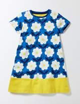 Boden Flowery Jersey Dress