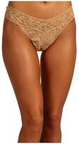Hanky Panky Signature Lace Original Rise Thong (Bliss Pink) Women's Underwear